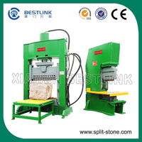 Hydaulic Splitting Rough Rock Bridge Natural Face Stone Cutting Machine