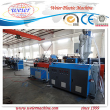PE PP PA corrugated pipe machine