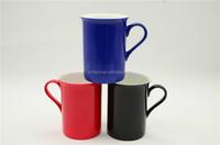 sublimation thin bone china mug color changing