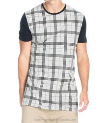 Online shopping Gentlemen's T shirt, Lattice T shirt, T shirt Men