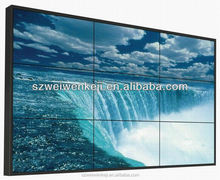 perfect style! 46,55inch shopping mall LCD advertising network video wall
