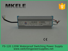 FS-120-12 12v120w 12v 10a switching power supply waterproof ip67 12v 10a switching adapter