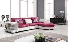 2015 modern furniture functional corner fabric sofa for living room