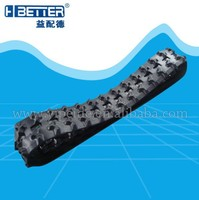 high quality snowmobile rubber track