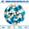 Océano azul y blanco píldoras medicina Herbal China cápsula vacía Shell compra de China