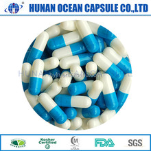 Ocean Blue and white pills Herbal Medicine Empty Capsule Shell buy China