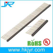 52p Single Row 2.54mm Pin Header H=1.5mm connectors 0.5*0.5mm