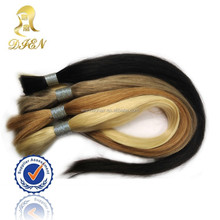 black japanese kanekalon fiber synthetic hair bulk