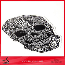 Sinicline Special Skull Adhesive Sticker Label for Home Decorations Phone Paper Sticker
