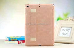Trade assurance supplier Ultra thin holding leather case for iPad mini