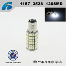 Car led 1157 3528 120SMD Brake lights BAY15D Lamp Bulb
