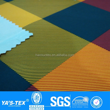peach skin printing stretch fabric 100% polyester fabric jacket fabric for outdoor sportwear
