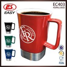 Promotion 450ml custom latest design customized mug direct from china