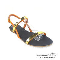 low price good quality fashion open toe topless ankle strap ladies fancy sandal