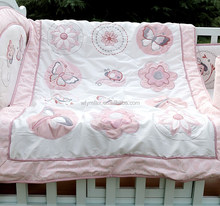 Fancy printed quilt patchwork bedspread for children