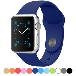 Hot Silicone Band Strap Bracelet Fit Replacement for Apple Watch 38mm 42mm