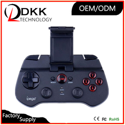 Cheap wireless bluetooth mobile phone joystick for IOS android game controller for iphone 6 wholesale bluetooth gamepad