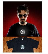 2015 in stock 100% cotton shirt hot sell Iron Man t-shirt 2 El tshirt panel