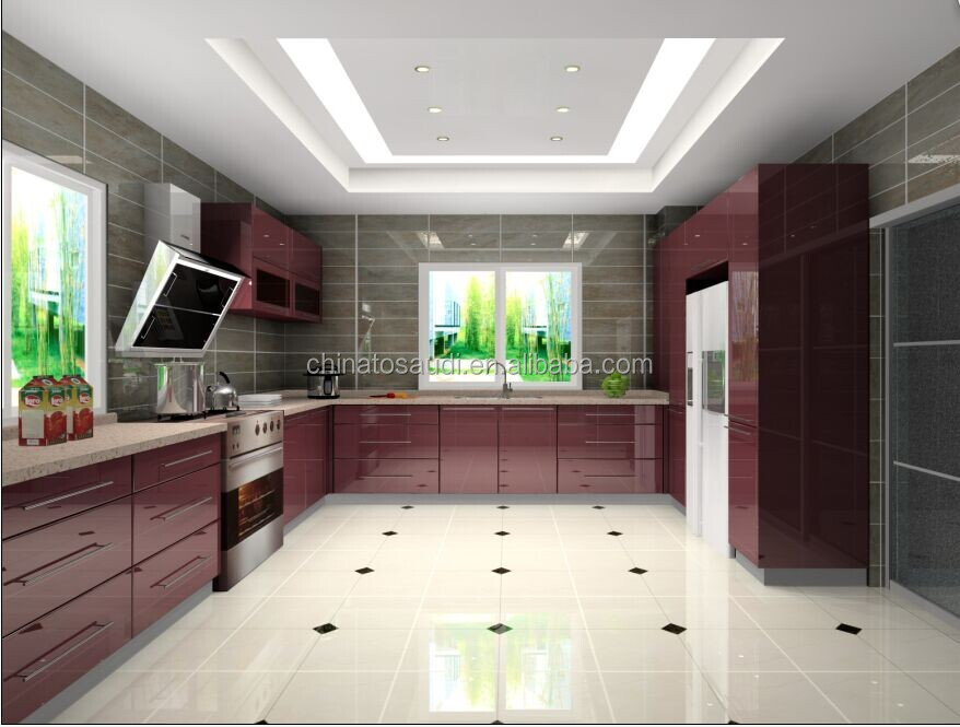 Lacquer kitchen cabinets, modular kitchen cabinets,kitchen cabinets