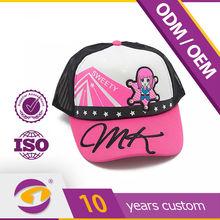 High quality children\s baseball cap with rhinestones