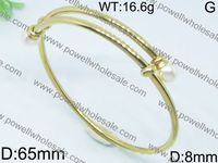 2015 Powell New Arrive Fashion gold bangles images