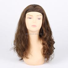 2015 new arrival virgin Mongolian human hair Jewish wig kosher wigs band fall
