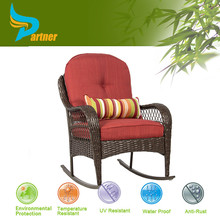 High Quality Luxury Stainless Steel Dining Rattan Pergola Peacock Basket Chair Rattan Furniture With Cushions