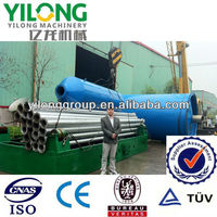 Hot selling,no pollution easy operation waste/used car tyre to fuel oil pyrolysis machine with good quality