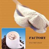 New product promotion palm or coconut vegetable fat filled milk powder non dairy coffee creamer