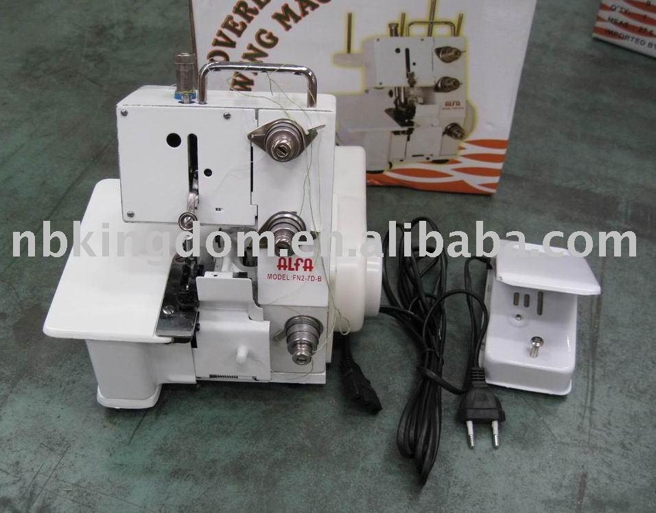 Fn2-7db máquina de costura Overlock