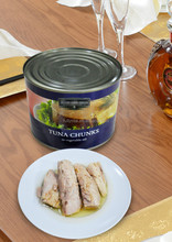 1880g High Quality Canned Food Tuna in Oil