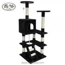 2015 New Wholesale indoor Cat Scratcher Cat Craft Deluxe Luxurious Sisal Cat Tree