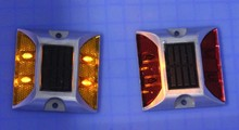 Commercial Road Stud /traffic solar road stud super bright leds for outdoor used