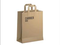 Wholesale Paper Gift Bag Packaging Bag Brown Paper Bag