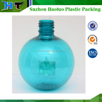 Ball shape plastic bottles 400ml made from suzhou china