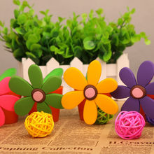 Cute Sunflower Pot Shape Pen Manufacturers in China Made Promotional Gifts for Teenagers Girl Ballpoint Pen Wholesale NN-1010