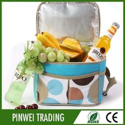 whole foods bottle cooler bag, insulated cooler bag for frozen food