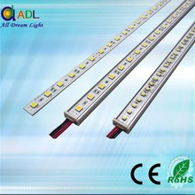 Aluminium profile showcase/light boxes/stage decoration!!60/72 leds DC12V IP65 Waterproof 5050 smd led rigid strip light bar