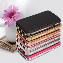 factory price phone covers two mobile phones leather case, waterproof for iphone 6 plus wallet leather case