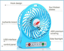 electric and lithium battery powered mini USB fan, USB mini fan, USB fan,mini squirrel cage fan
