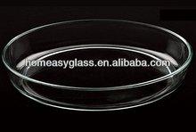 Alta calidad borosilicato / pyrex placa de cocción y platos ( KP0413 )
