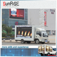 alibaba express mobile truck led screen 2015 new products outdoor led large screen display