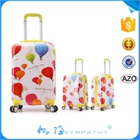 3PCS Spinner hardshell Trolley case ABS Travel Suitcase luggage bags
