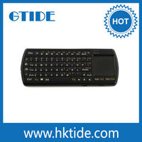 rechargeable mouse and wireless keyboard for smart tv/cell phone/tablet