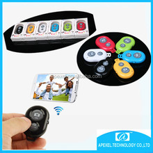 Cheap Price! bluetooth remote shutter for IOS Android mobile phone,smartphone wireless remote shutter controller for Iphone