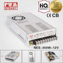 12v 350w NES Series CCTV Camera/LED strips/Elevator power supply unit with CE approved