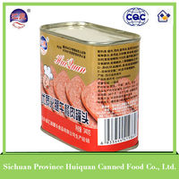 Wholesale products china canned meat/bulk canned food price