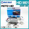 Slim ballasts motor HID KIT Motorcycle hid kit H6 hi/low high and low beam bi xenon motorcycle hid kit lamps