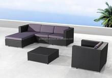wicker rattan sofa cover 6 set