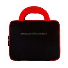 "Computer/ Laptop Sleeve Cover Case Neoprene 13. 3"" Black&Red"